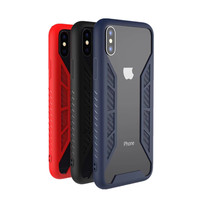 Simple Style Flexible TPU Case Premium Hybrid Protective Clear Phone Case for iPhone X Case