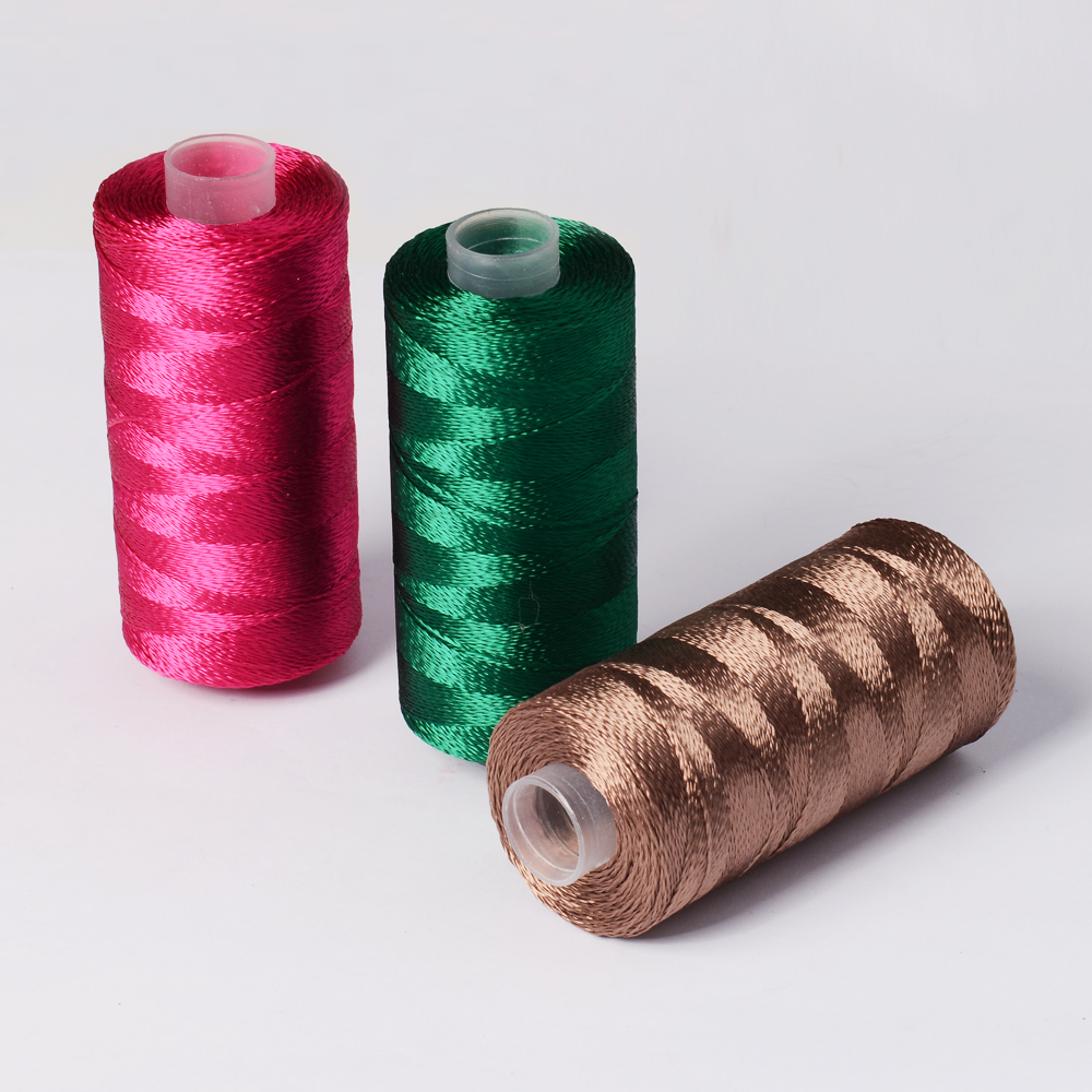 300d2 Viscose Rayon Hand Embroidery Thread 25g Each Cone Buy