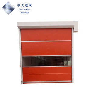 Warehouse Electric Automatic Metal Fireproof Steel Rolling Exterior Security Doors For Industry