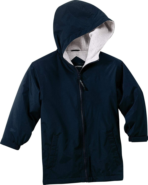 YJP56 Bright Navy//Light Oxford L Port Authority Youth Team Jacket