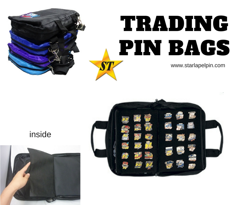 Polyester Doents Trading Pin Collector Carry Bag Product On Alibaba