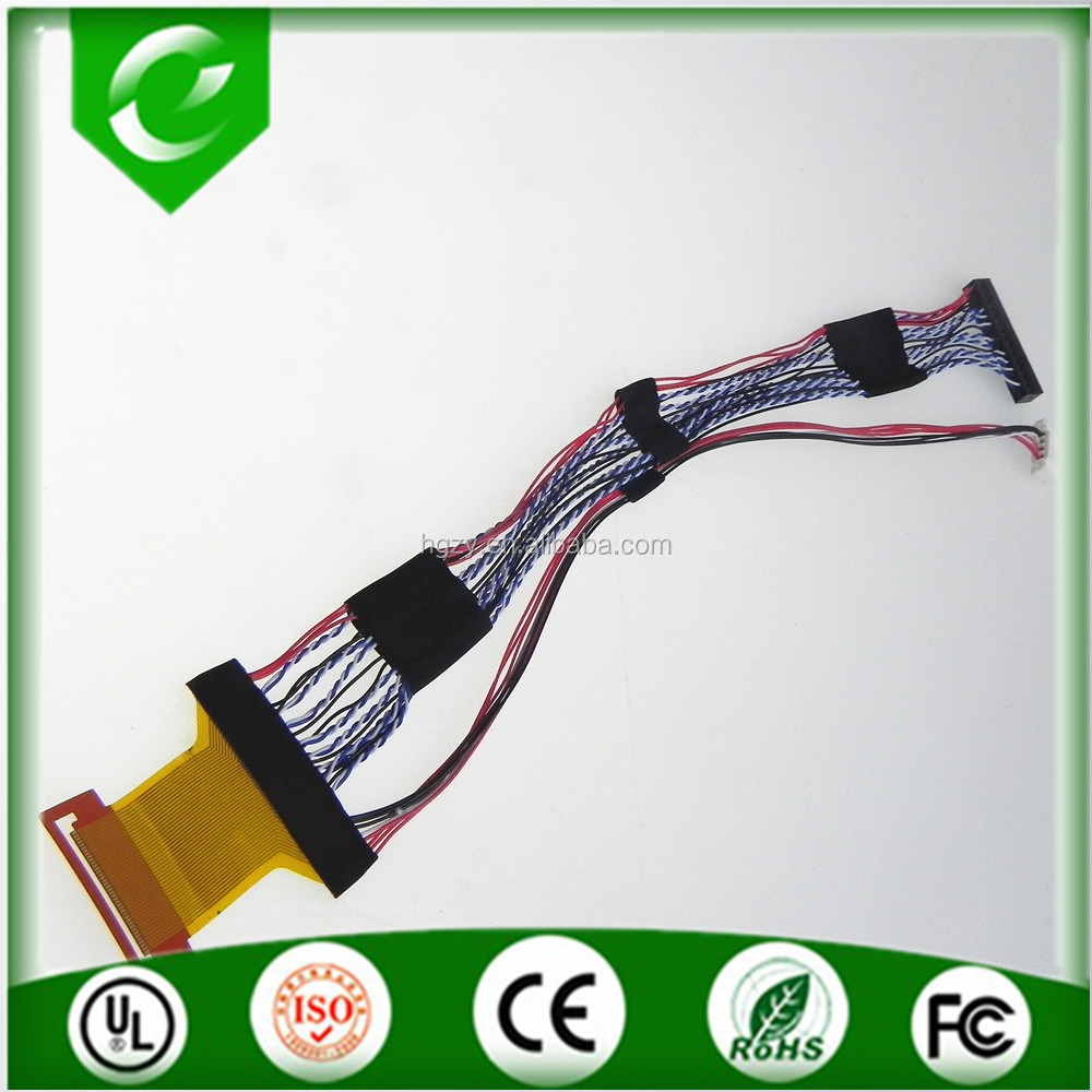Custom Twisted-pair Copper Wire Sci Lvds Cable For Computer - Buy ...