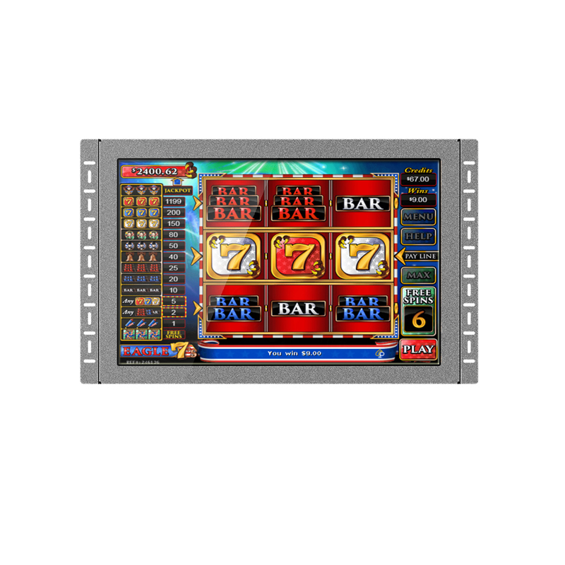 22 inch POG WMS game touch lcd touch monitor with IR touch screen monitor