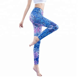 148097afad3d8 S-SHAPE Women's Sports Tights Active Yoga Digital Printed Pants Fitness  Running Sublimation Leggings Free Shipping