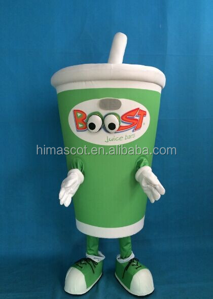 HI high quality adult coffee cup mascot costumes for adult