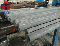 ISO 9001-2008 Round Carbon Precision Seamless Steel Tube , High pressure Gas Cylinder Tube