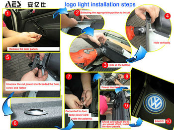 Hete Verkoop Auto Verlichting Auto Deur Logo Laser Geleid Logo Licht ...