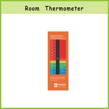 Liquid Crystal Thermometer Strips for Household,LCD Color Change Room Thermometer