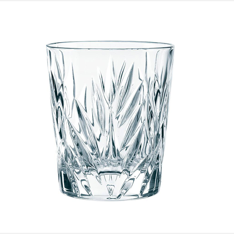 customized printed 836oz verrine tulip hoegaarden soju recycled octagonal wide mouth glass cup