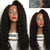 Excellent 180% density deep wave full lace wig 100% Virgin India Hair Wig Price