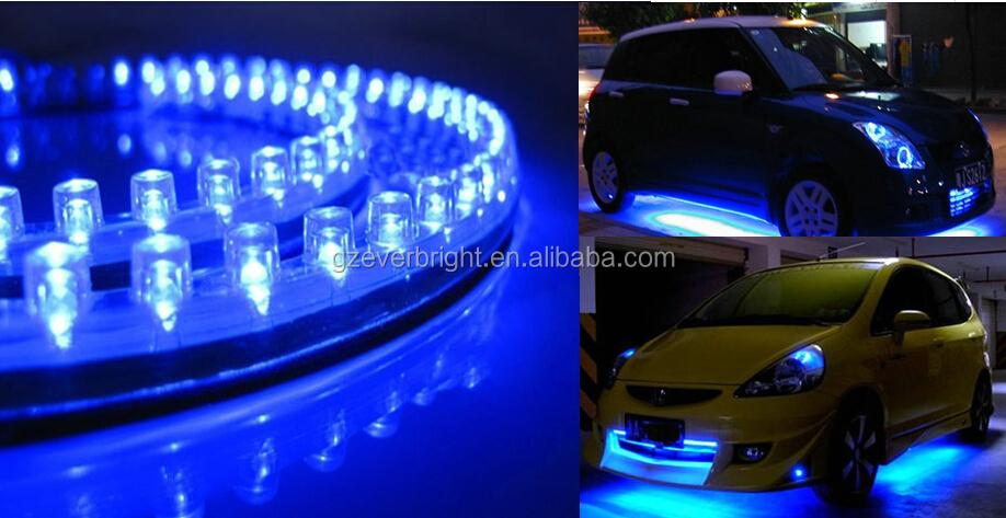 Led Flexible Cmled Strip Light Dc12v Car Knight Rider Flexible ...