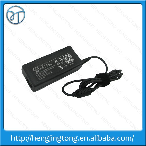 Hot 19.5V 3.34A octagonal for dell notebook power adapter input 100~240v ac 50/60hz