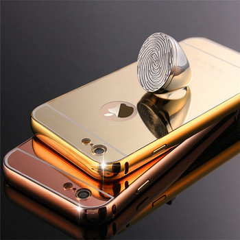 on sale e7217 7a019 24k Gold Acrylic Aluminum Bumper Mirror Case Cover For I6 For Iphone 6 6s 6  Plus + - Buy 24k Gold Bumper Mirror Case Cover,Acrylic Aluminum Bumper ...