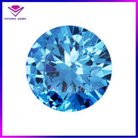 Serenity Blue Small Star Cut Cubic Zirconia/High Quality Loose Zircon