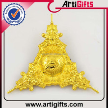 High quality metal badge metal handicraft