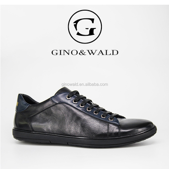 Ginowald Famous Men Brand Genuine Leather Smart Casual Shoes For Men