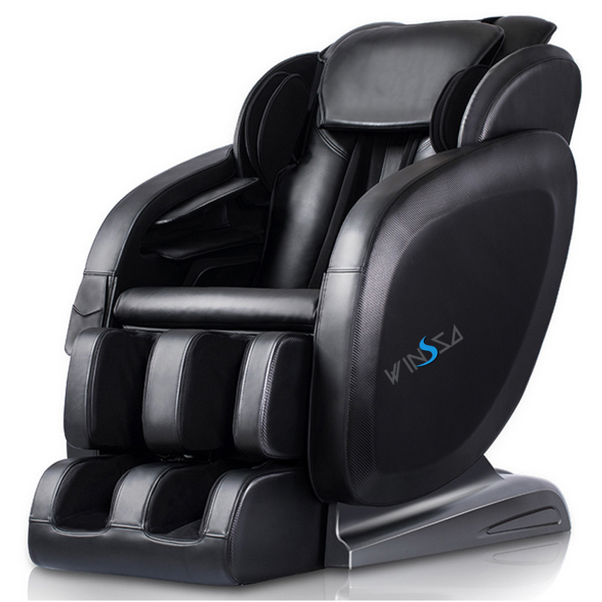 top rated korea home interactive health centre battery electric full body relaxing air folding leg massage seat chair