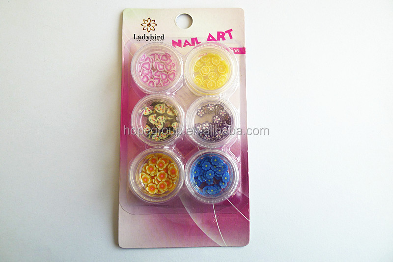 Nail Art Decor Decoration Fimo Clay Resin Polymer 6