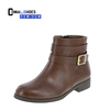 Connal High Quality Luxury ankle short dress boots girls leather boots