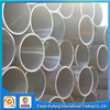 SS400 carbon welded erw steel pipe for structures