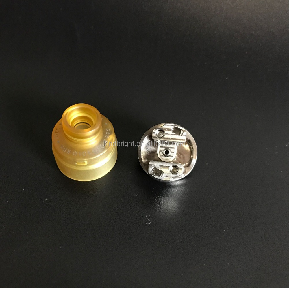 Hottest&Newest!!!2017 Kindbright arrival 1:1 clone Solo rda with PEI cap/Double 11 Mod/Le concorde RDA with best design for sale