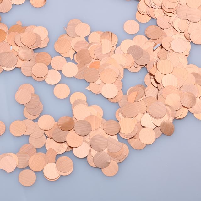 Decorações de festa de casamento rosa confete de glitter confetes coloridos de glitter de arquivo de ouro