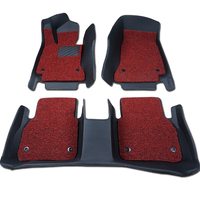 High quality easy cleaning coil car mat in roll