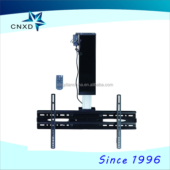 electric tv bracket ceiling mount lcd tv wall mount yk011 - Ceiling Mount Tv