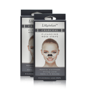 Bamboo Charcoal Cleaning Pore Blackhead Mask Nose Strips