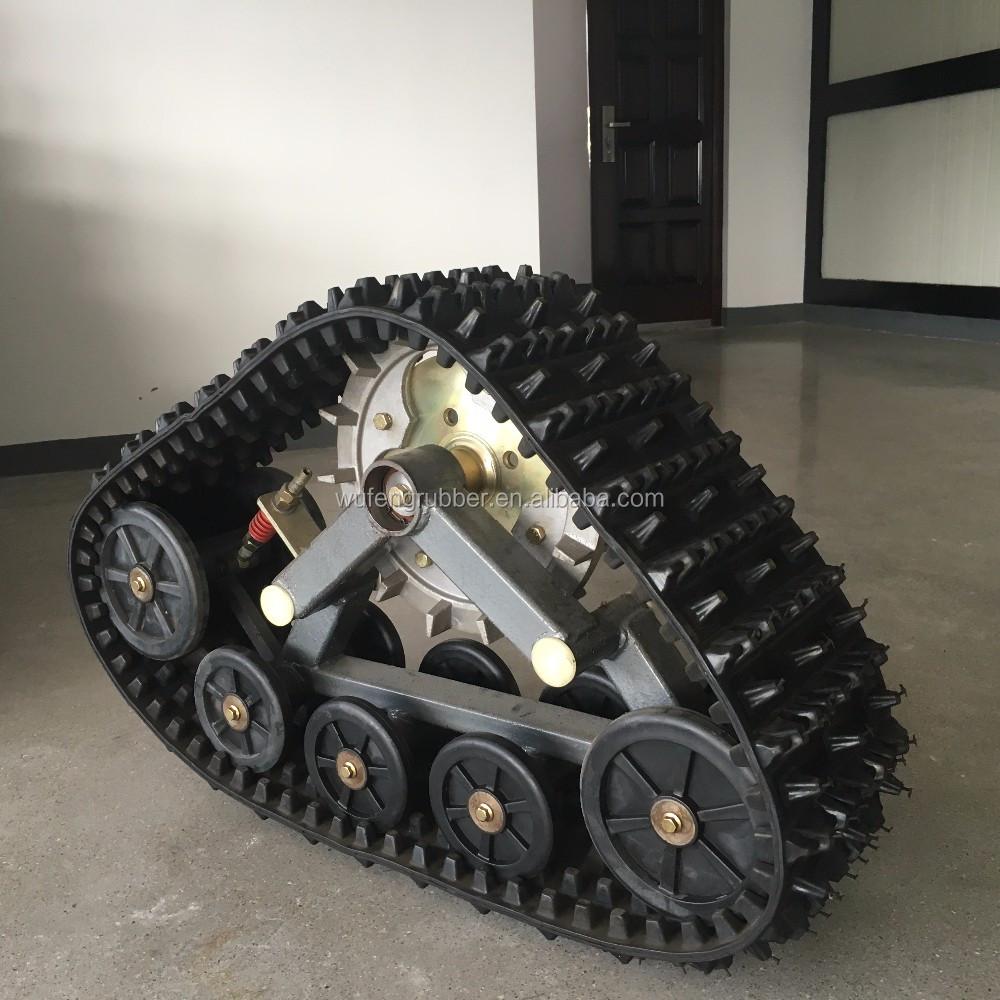 Atv conversion system kits pickup truck track kits wheel drive vehicle rubber track kits