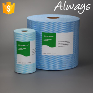 2017 ALWAYS X-60C New Designed Multipurpose Disposable Spunlace Cleanroom wiping cloth