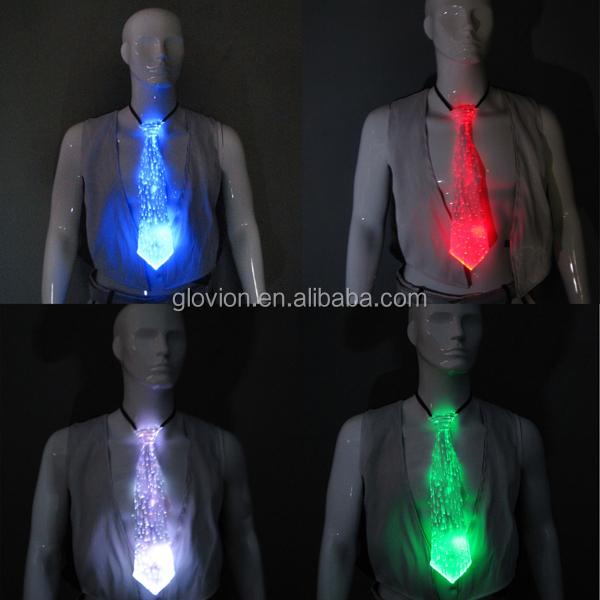 best selling glowing ties for men light up christmas tie light up led neck tie - Light Up Christmas Tie