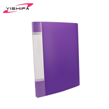 Custom Logo clear presentation a5 display book