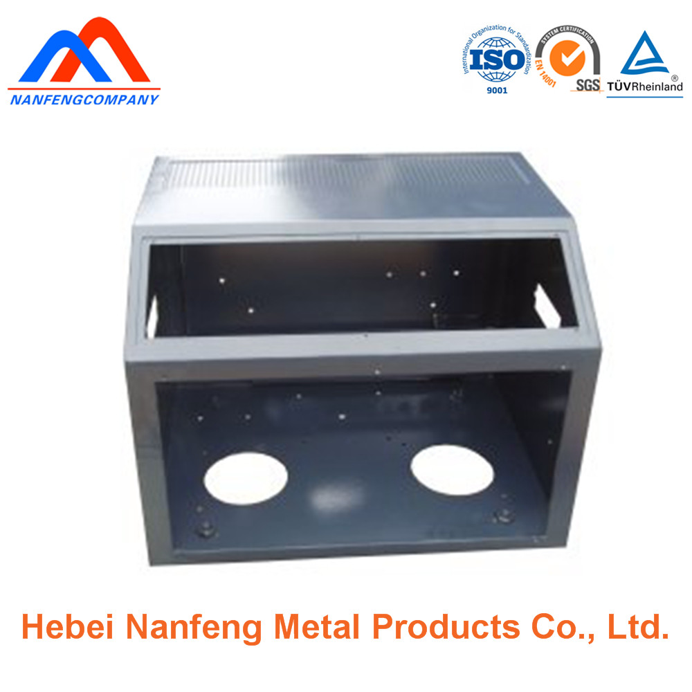 Custom Powder Painted Sheet Metal Electronic Enclosures/Cases