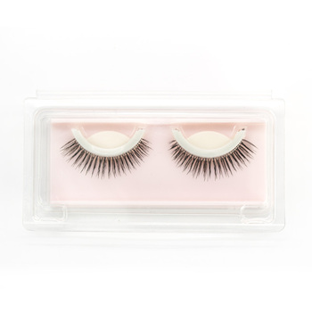 Self Adhesive false eyelashes individual eyelash extension Natural Long make up false mink eyelashes ZKS02