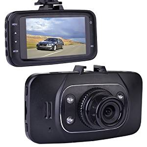 "DASHCAM1080 Automotive 1080p HD Dashcam with Night Vision, 2.7"" LCD Screen"