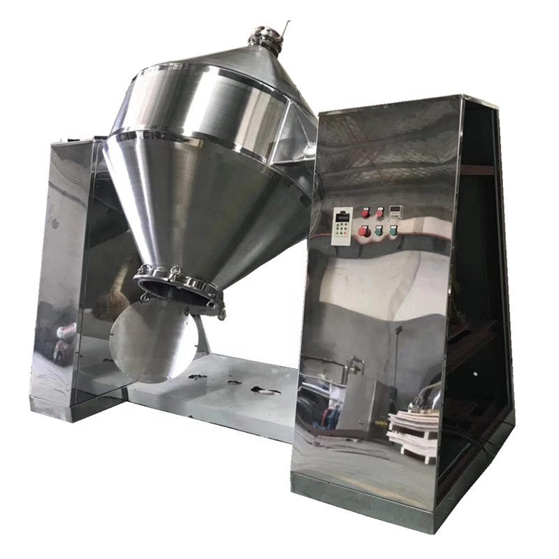 JINHE coffee tea powder mixing machine powder blend pharma 1000 kg paddle mixer cathode dry powder mixing machine