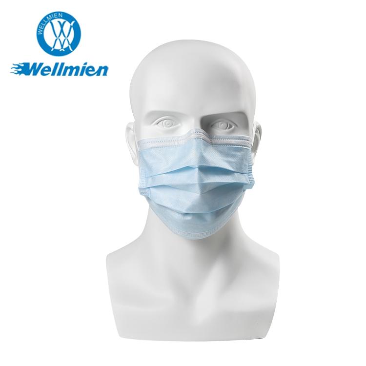 Non-ทอแบคทีเรียกรอง 3 ชั้นทิ้งหน้ากากผ่าตัด