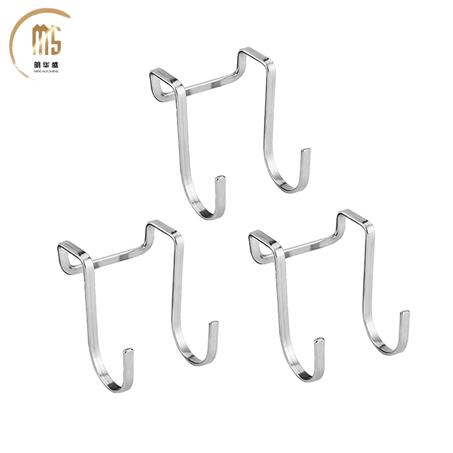 News goods Guangdong bathroom hotel house Stainless iron Dual S Hook