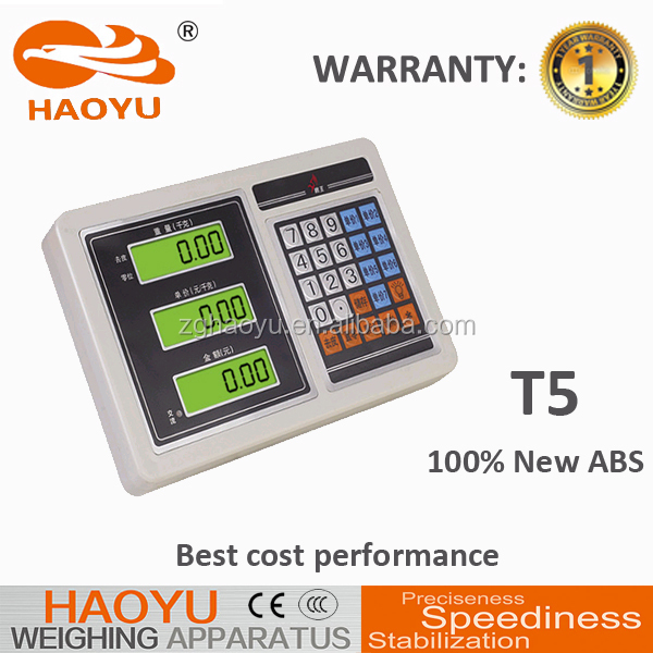 Acs Price Computing Scale Manual T6-2 500kg Platform Weighing ...