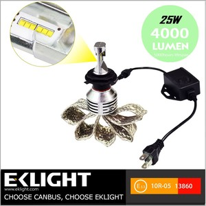 Car Bulb Autozone Accessories 9005 9006 High Beam Fanless LED Headlight  Review Conversion Kit