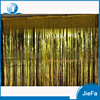 15cm*50cm Popular Metallic Door Decoration,Tinsel Curtains Party Decoration, Foil Gold Shimmer Curtains