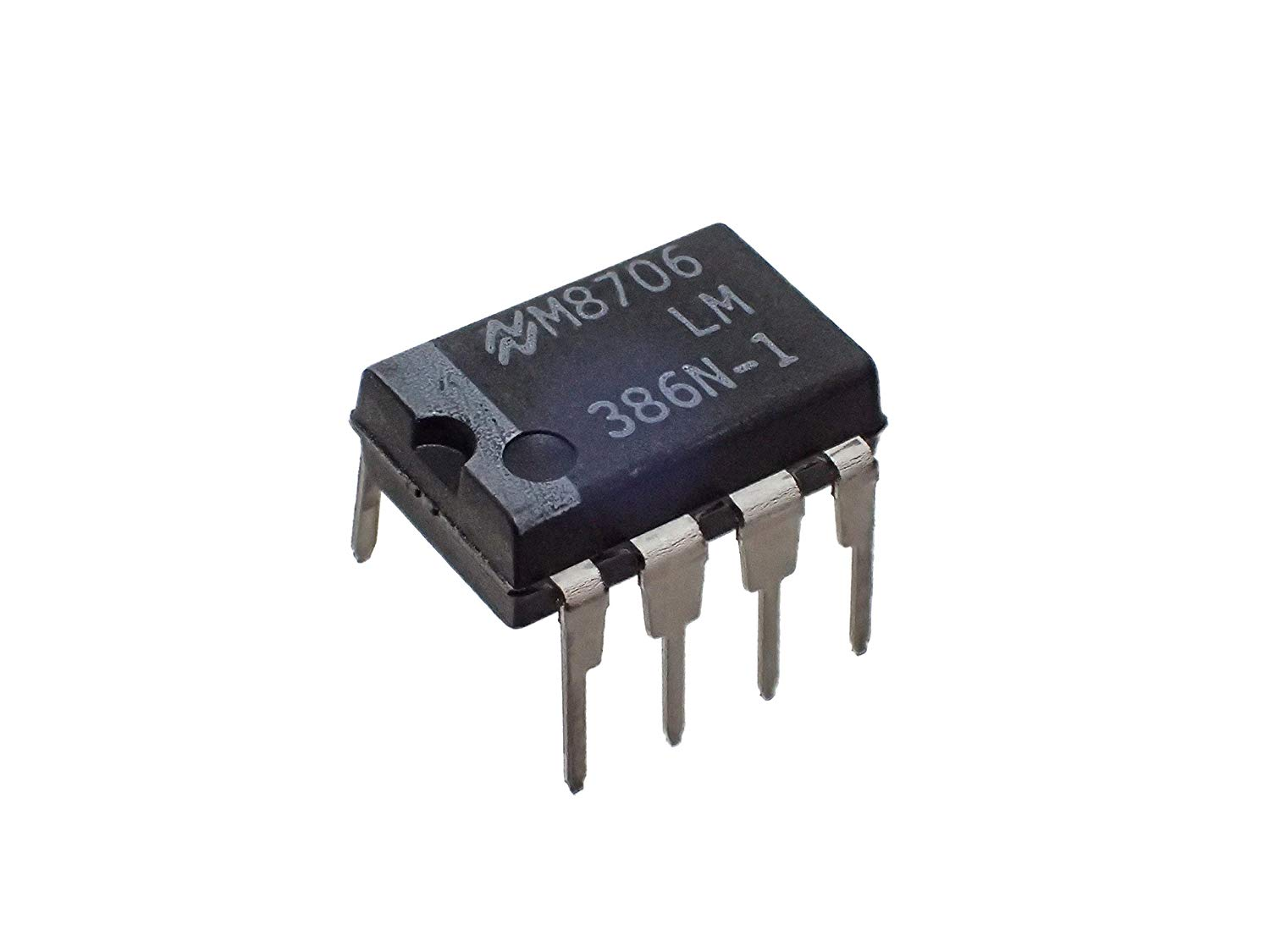 Low Power Audio Amplifier IC 10PCS National Semiconductor LM386N-1 Sockets