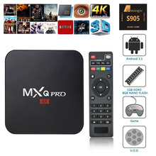 MXQ PRO S905 Smart TV Box Quad Core Android 5.1 1GB+8GB Fully Loaded Hot