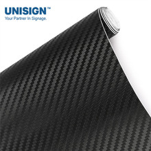 Car decoration wrap carbon fiber self adhesive vinyl sticker