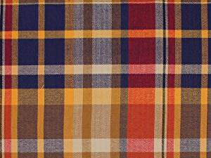 3 Yards Bolt of Allison Cotton Stretch Twill Plaid Suiting Fabric By the Yard