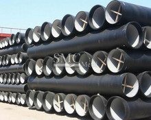 K9 ductile cast iron pipes.