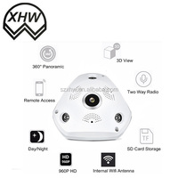 Home Security Camera System Wifi Wireless, Fisheye hidden spy camera, Various Mobile monitoring IOS& Android