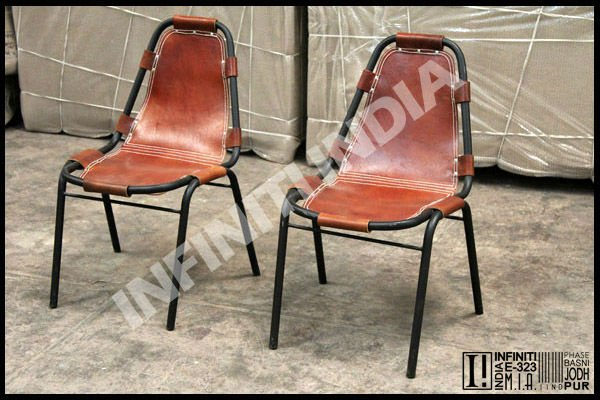 Industrial Iron Leather Chairs   Buy Industrial Iron Leather Chairs,Leather  Dining Chair,Antique Leather Furniture Chairs Product On Alibaba.com