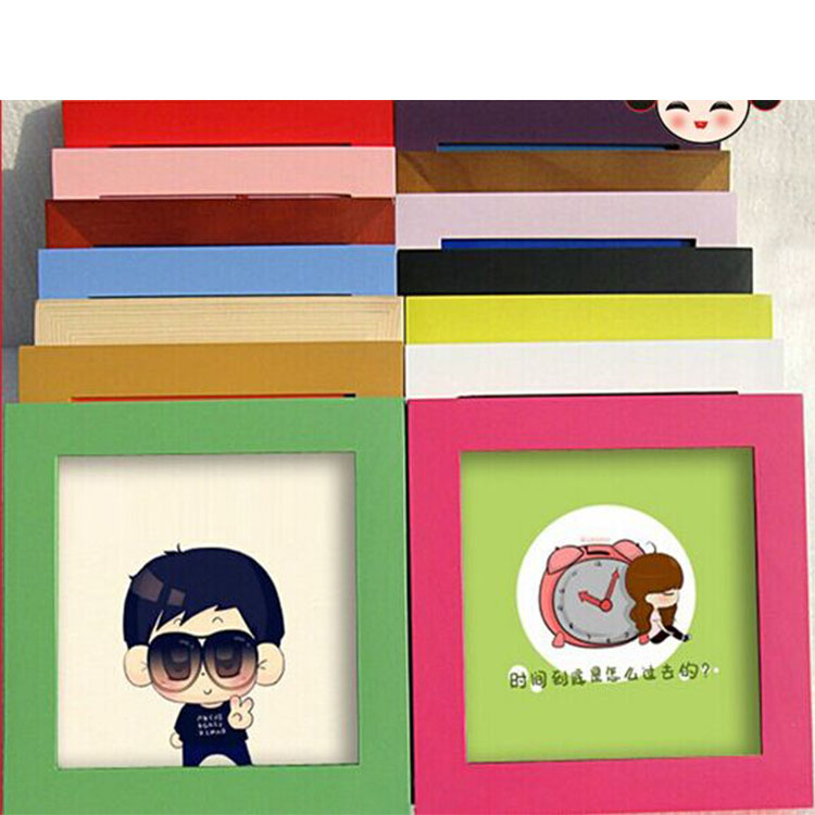 multi size wooden birthday square photo frame